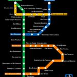 La première phase du métro de Prévost, en 1998